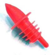 Spill-Stop Manufacturing Company Medium Red Plastic Pourer (04-0185) Category