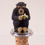 Chimpanzee Bottle Stopper