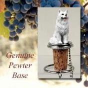 Samoyed Wine Bottle Stopper