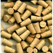55, #1 , CORKS, TAPERED CORK, CORK STOPPERS , 55 , size # 1, TAPERED CORKS, STOPPER, is, about, 0.8cm at the small end, 1.1cm at the large end, 1.3cm long,