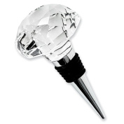Clear Optic Crystal Wine Stopper