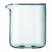 Bodum Spare Glass Carafe for French Press Coffee Maker, 4-Cup, 0.5-Litre, 500ml