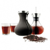Eva Solo Tea Maker with Two 25 cl Tumblers, 1-Litre, Black