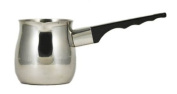 12 oz. (Ounce) Turkish Coffee Decanter, Espresso Decanter, 18/10 Gauge Stainless Steel, Barista Coffee Decanter Pitcher