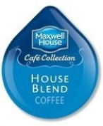 MAXWELL HOUSE CAFE COLLECTION HOUSE BLEND COFFEE T-DISC 48 COUNT