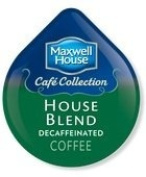 Maxwell House Cafe Collection House Blend Decaffeinated Coffee T-disc 48 Count