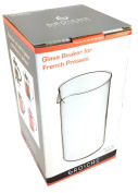 Grosche 1000ml 34 Fl. Oz (8 cup) French Press Universal Replacement Glass (not plastic) Beaker