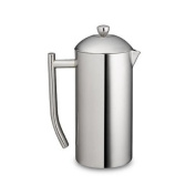 Frieling French Press Ultimo 500ml ~ Insulated Stainless Steel Mirror Finish Coffee Press