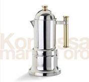 Stovetop Espresso Maker - Vev Vigano Kontessa Gold 6 cup size