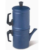 Blue Neapolitan Coffee Maker - Made in Italy