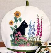 Cat in the Garden Tea Cosy