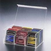 6 Compact Tea Bag Box (Clear)