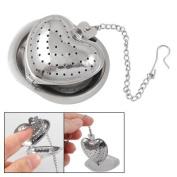 Stainless Steel Heart Shaped Tea Infuser Strainer Mesh Ball