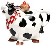 Appletree Design Barn Yard Cow Teapot, 17.1cm