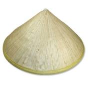 Hand Woven Bamboo Vietnamese Peasant Farmer Hat 13342