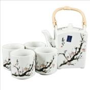 Japanese Cherry Blossom Tree Tea Set