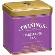 Twinings Darjeeling Loose Tea Tin 100 Gramme, Pack of 2