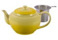Le Creuset 0.9l. Large Teapot with Stainless Steel Infuser - Soleil/Sun