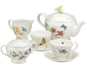 Lenox Butterfly Meadow 7 Piece Tea Set