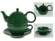 Tea for One Hunter Green Gloss - EnglishTeaStore Brand