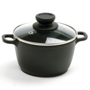 Norpro 0.9l Nonstick Mini Pot with Vented, Tempered Glass Lid