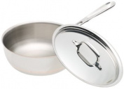 All-Clad Copper Core 1.9l Saucier Pan with Lid