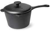 Old Mountain Pre Seasoned 2.8l Sauce Pan with Lid