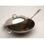 All Clad Stainless Steel 3.8l 30.5cm Chef's Pan with Domed Lid