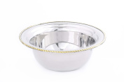 Old Dutch FP8801 Round Stainless Steel Food Pan, 2.8l