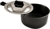Futura Non-Stick Curry Pan (Saute Pan) 3-1/4 Litre with Steel Lid