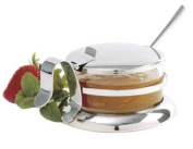 Norpro Stainless Steel Glass Jar with Lid