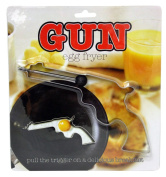 Island Dogs 54677 Gun Egg Fryer, Silver