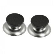 2 Pcs Replacement Cookware Pot Lid Knob