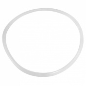 Amico Kitchen Rubber Pressure Cooker Seal Sealing Ring Clear White 28cmx30cm