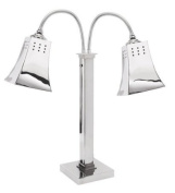 Eastern Tabletop 9672 Stainless Steel Double Square Self Standing Lamp Warmer