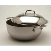 All-Clad Tri-Ply Stainless Steel 5.2l. Dutch Oven with Lid