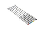 Cuisinox FON6STS Elite Fondue Forks with Coloured Tips