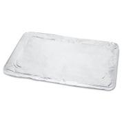 Boardwalk Half Size Steam Table Pan Lid, Aluminium, 100/Case