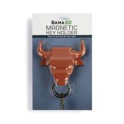 GAMAGO Bull Nose Magnetic Key Holder, Red