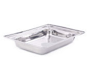 Old Dutch FP683 Rectangular Stainless Steel Food Pan for No.683, 7.6l