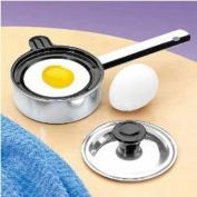 Individual Single Egg Poacher Non Stick Aluminium with Cover