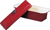 Chasseur Enamelled Cast-Iron Pate Terrine Mould, Red