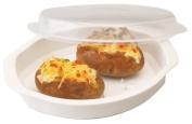 Progressive International Microwavable Potato Cooker with Lid