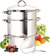 Cook N Home NC-00256 10.4l Stainless-Steel Juicer Steamer