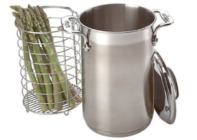 All-Clad Stainless Asparagus Pot with Steamer Basket