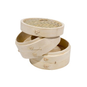 Town Food Service 15.2cm Bamboo Steamer Set