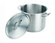 Crestware 18.9l Stainless Steel Stock Pot with Pan Cover