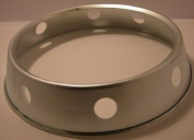 "Wok/pot stand with Gas safty hole s/s 25.5cm/10"" Guaranteed quality"