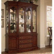 American Drew Cherry Grove Canted China Cabinet