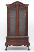 Chippendale China Cabinet with Two Doors